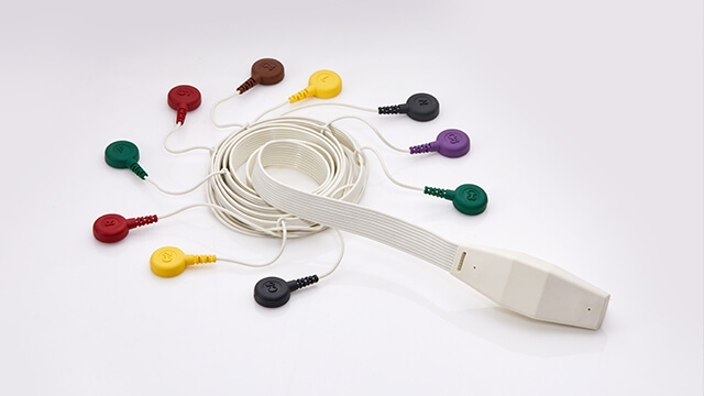 10 Leads EKG Cables
